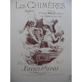 PRIVAS Xavier Les Chimères Chant Piano