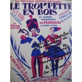 SCOTTO Vincent Le Trompette en Bois Piano 1924