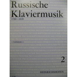 Russische Klaviermusik 6 Pièces Piano 1983