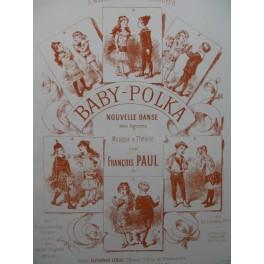 PAUL François Baby Polka Piano Danse XIXe