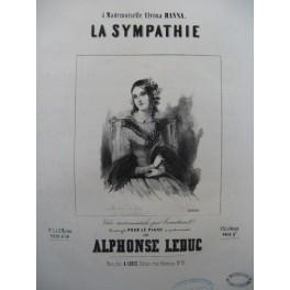 LEDUC Alphonse La Sympathie Piano 1844
