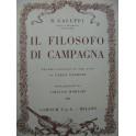 GALUPPI Baldassare Il Filosofo di Campagna Opéra Chant Piano 1965