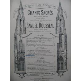 ROUSSEAU Samuel Mater Divinae Gratiae Chant Orgue