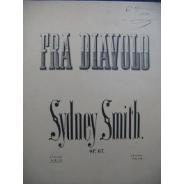 SMITH Sydney Fra Diavolo Piano ca1870