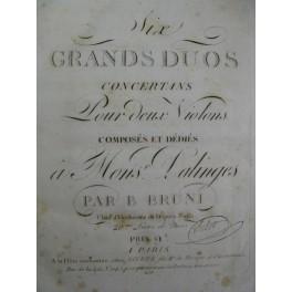BRUNI VIOTTI Duos pour 2 Violons ca1790