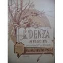 DENZA L. Aux étoiles Mélodie Piano Chant Violon ou Violoncelle 1891