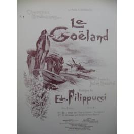 FILIPPUCCI Edm. Le Goëland Chant Piano 1897