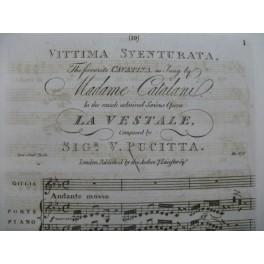 PUCITTA Vincenzo Vittima Sventurata Chant Piano ca1810