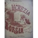DONIZETTI G. Lucrèce Borgia en italien Opéra Piano Chant