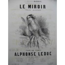 LEDUC Alphonse Le Miroir Piano ca1850