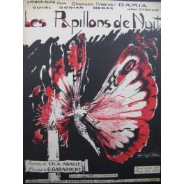 GABAROCHE G. Les Papillons de Nuit Chant Piano