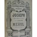 MÉHUL Joseph LENEPVEU Ch. Jeanne d'Arc Opéra Chant Piano XIXe