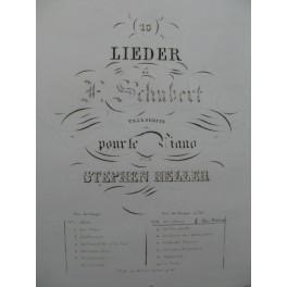 SCHUBERT Franz Ave Maria Piano solo ca1839