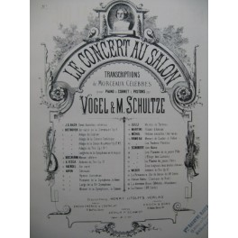 BEETHOVEN Larghetto de la Symphonie en Ré Maj Violon Piano XIXe
