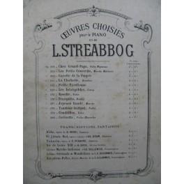 STREABBOG Louis Tambour Battant Polka Piano 4 mains 1895