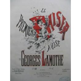 LAMOTHE Georges Le Premier Baiser Chant Piano 1878