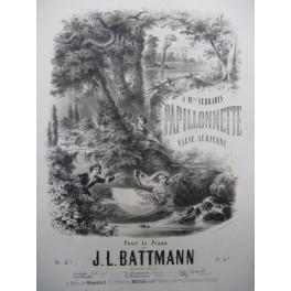 BATTMANN J. L. Papillonnette Piano ca1860