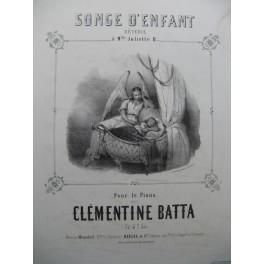 BATTA Clémentine Songe d'Enfant Piano ca1840