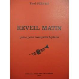 FIÉVET Paul Réveil Matin Piano Trompette 1972