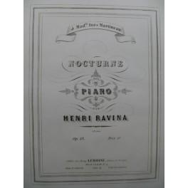 RAVINA Henri Nocturne Piano ca1845