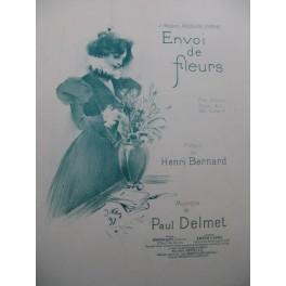 DELMET Paul Envoi de Fleurs Chant Piano 1898