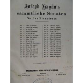 HAYDN Joseph 34 Sonates pour Piano