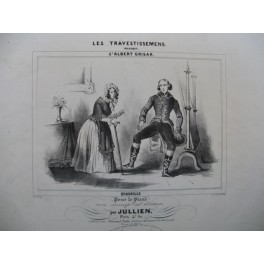 JULLIEN Les Travestissements Piano 1840