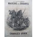 JOHN Charles Marche des Zouaves Piano ca1850