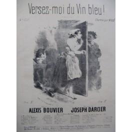DARCIER Joseph Versez-moi du Vin bleu Nanteuil Chant Piano XIXe