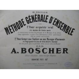 BOSCHER A. Méthode Générale d'Ensemble XIXe