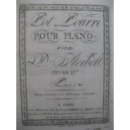 STEIBELT Daniel Pot Pourri Piano ca1800