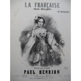 HENRION Paul La Française Polka Piano ca1850