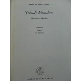 MAGIDOFF Robert Yehudi Menuhin Mensch und Musiker 1955