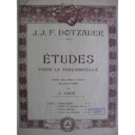 DOTZAUER J. J. F. Etudes faciles