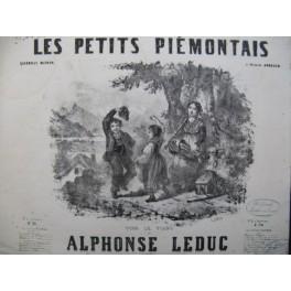 LEDUC Alphonse Les Petits Piemontais Piano ca1850