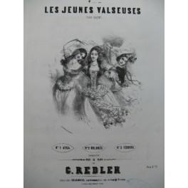 REDLER G. Les Jeunes Valseuses No 3 Piano ca1850