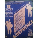DEPRINCE A. 12 Succès pour Accordéon 1944