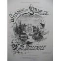 SELLENICK Adolphe Souvenirs de Serquigny Mazurka Piano 1883