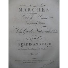 PAER Ferdinand Marches Piano ca1820
