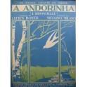 MILANO Nicolino A Andorinha L'Hirondelle Chant piano 1920