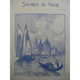 FISCHER et B. DEVAUX Souvenir de Venise Piano