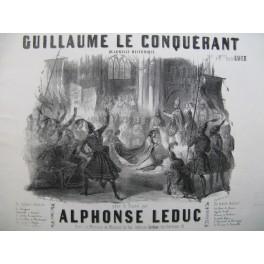 LEDUC Alphonse Guillaume le Conquérant Piano ca1848