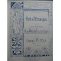 MISSA Edmond Noël des Mésanges Chant Piano ca1896
