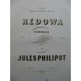 PHILIPOT Jules Redowa Viennoise Piano ca1850