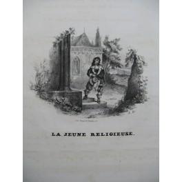MAILLARD Nélia La Jeune Religieuse Chant Piano ca1830