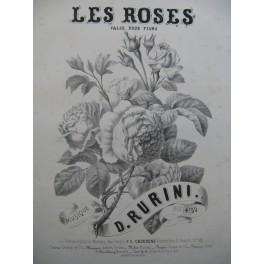 RURINI D. Les Roses Piano ca1855