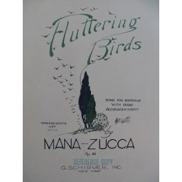 MANA-ZUCCA Fluttering Birds Chant Piano 1924