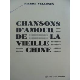 VELLONES Pierre Le Gué Chant Piano 1931
