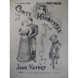 VARNEY Jean Conte de Manoeuvres chant piano