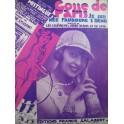 SYLVANIO René Gosse de Paris. Je suis née Faubourg St Denis Chanson Piano 1929